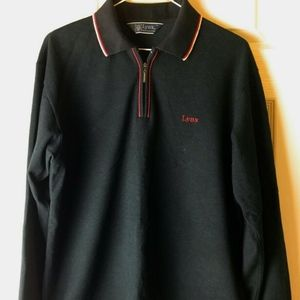 Men's Vtg Lynx POLO GOLF Shirt Golf Clubs Size M